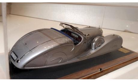 Mercedes-Benz 540K 1939 Roadster King Ghazi I (4A) open 1/43 EMC Пивторак, масштабная модель, 1:43