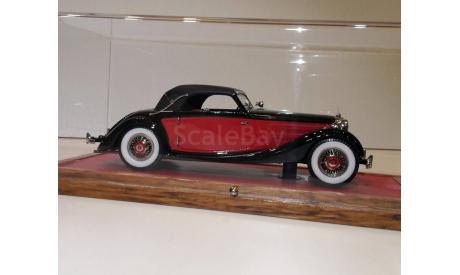 Mersedes-Benz 320 1939 W142 Cabriolet A  1/43 EMC Пивторак, масштабная модель, 1:43, Mercedes-Benz