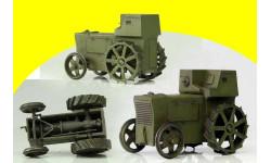 1920 Фордзон (бронетрактор) Моделстрой  1/43 трактор, масштабные модели бронетехники, 1:43, Modelstroy
