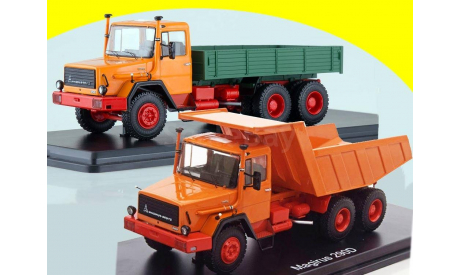 Magirus 290D26K самосвал Магирус СССР 1:43 ССМ SSM 1286 + Magirus 290D26L бортовой Магирус SSM 1287, масштабная модель, scale43, Start Scale Models (SSM), Magirus-Deutz