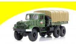 Н951 КрАЗ-214В балластный тягач с тентом