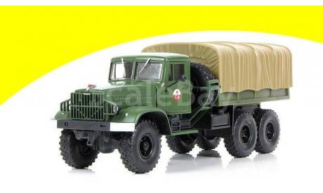 Н951 КрАЗ-214В балластный тягач с тентом, масштабная модель, 1:43, 1/43, Наш Автопром