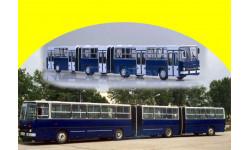 Икарус-293 самый длинный, масштабная модель, 1:43, 1/43, Советский Автобус, Ikarus