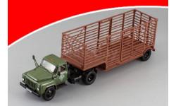 Горьковский автомобиль 52-06 тягач 'Мосторгтранс' и полуприцеп-таровоз DiP 905202