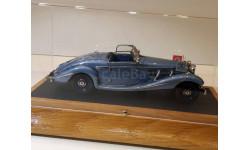 Mercedes-Benz 540K 1937 Special Roadster Blue Goose 1/43 EMC Пивторак, масштабная модель, 1:43