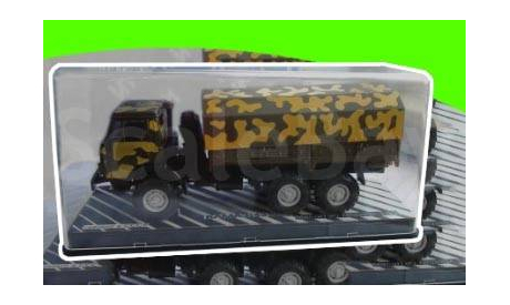 КАМАЗ-4310 Элекон камуфляж бокс (П), масштабная модель, 1:43, 1/43, Start Scale Models (SSM)