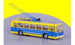 ЗИУ 5 Музейный (жёлтый/синий), масштабная модель, 1:43, 1/43, Советский Автобус, Ikarus