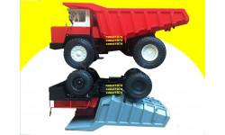 БелАЗ-548 (Н007), масштабная модель, 1:43, 1/43, Наш Автопром