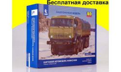 Сборная модель КАМАЗ-6350 8x8 бортовой 1308AVD Бесплатная доставка