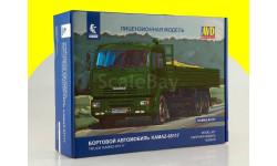 Сборная модель КАМАЗ-65117 бортовой 1309AVD, сборная модель автомобиля, Автомобиль в деталях (by SSM), scale43
