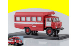 КСП-2001 (66) пожарный) SSM 1194, масштабная модель, 1:43, 1/43, Start Scale Models (SSM), ГАЗ