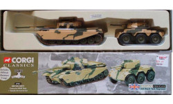 Centurion MkIII + Saladin Armoured Car, масштабная модель, scale0, Corgi