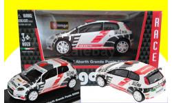 2 модели одним лотом: Abarth Grande Punto S2000 (FIAT) + Abarth 500, масштабная модель, 1:43, 1/43