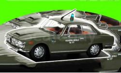 Alfa Romeo 2600 Sprint - 1964 POLIZIA ITALIA - Squadra Mobile, масштабная модель, IXO, scale43
