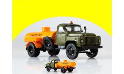 АТЗ-2,4 (52) на шасси ГАЗ-52 автотопливозаправщик, масштабная модель, 1:43, 1/43, Start Scale Models (SSM)