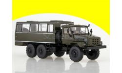 Вахтовый автобус НЗАС-4211 (похож на Урал-4322) SSM 1224, масштабная модель, 1:43, 1/43, Start Scale Models (SSM)