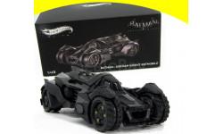 Batmobile 'Batman: Arkham Knight', Batman's New Batmobile, масштабная модель, Hot Wheels Elite