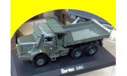 BERLIET GBC 6x6 военный самосвал, масштабная модель, 1:43, 1/43, Norev