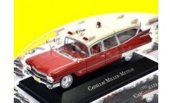 CADILLAC Miller Meteor Ambulance (скорая медицинская помощь) 1959, масштабная модель, 1:43, 1/43, Atlas