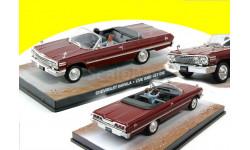 Chevrolet Impala Cabriolet James Bond Live And Let Die 1963 1/43, масштабная модель, 1:43, Universal Hobbies