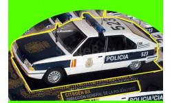 Citroen BX (1992), масштабная модель, IXO Police Collection, Citroën, scale43