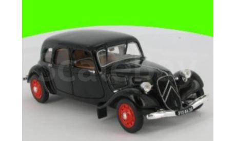 Citroen 11 B Famillale 1938 лимузин  (П), масштабная модель, 1:43, 1/43, norev/atlas, Citroën