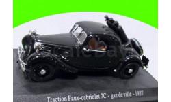 Citroen Traction Faux-Cabriolet 7C - gaz de ville -1937  (П)