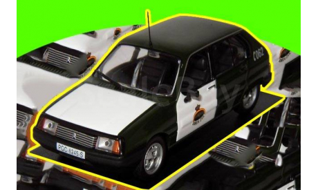 Citroen Visa (1982) GUARDIA CIVIL  (П), масштабная модель, 1:43, 1/43, IXO Police Collection, Citroën