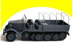 Sd.Kfz.9 Famo 18 ton Hälfte Track Deutschland 1/43, масштабная модель, 1:43, IXO