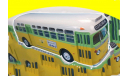 GM TDH 3610 'Rosa Parks' USA, 1955 прообраз ЗИС-154, масштабная модель, 1:43, 1/43, Hachette, GMC