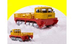 ГПИ-76 шнековый снегоболотоход 0091MP (смотри описание!), масштабная модель, AVD Models, ЗИЛ, scale43