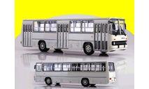 Ikarus-260 белый Икарус СОВА, масштабная модель, 1:43, 1/43, Советский Автобус