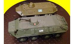 БТР-60ПБ 1/43, масштабные модели бронетехники, 1:43, Atlas