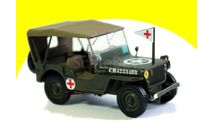 Jeep Willys MB 3 Canadian Infantry Division Normandy, France, June 1944 танк, масштабная модель, 1:43, 1/43