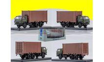 KAMAZ-53212 с 20-футовым контейнером SSM1281, масштабная модель, 1:43, 1/43, Start Scale Models (SSM), КАМАЗ