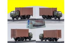 KAMAZ-53212 с 20-футовым контейнером SSM1281