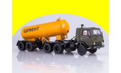 КАМАЗ-54112 с полуприцепом-цементовозом ТЦ-11 102101