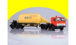КАМАЗ-54112 с полуприцепом-муковозом АСП-25   101125, масштабная модель, 1:43, 1/43, Автоистория (АИСТ)