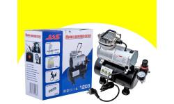 Компрессор 1203, с регулятором давления, автоматика, рессивер, инструменты для моделизма, расходные материалы для моделизма