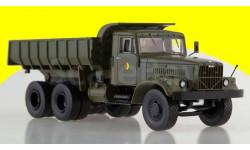 KRAZ-256B1 NVA самосвал КрАЗ-256Б1,  хаки, армейский