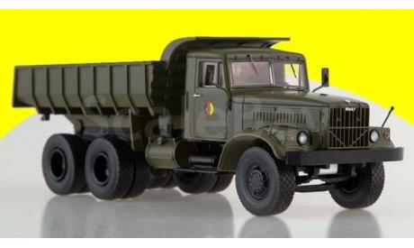 KRAZ-256B1 NVA самосвал КрАЗ-256Б1,  хаки, армейский, масштабная модель, 1:43, 1/43, Premium Classixxs