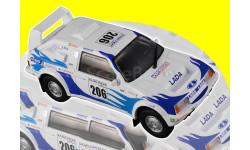 Лада Самара Т3 - спецвыпуск «Спорт» №3 с журналом 1:43, масштабная модель, DeAgostini, ВАЗ, scale43