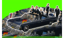 Lincoln Continental Presidential Parade Vehicle X-100 Berlin 1963 J.F.Kennedy/W.Brand/K.Adenauer  (П), масштабная модель, 1:43, 1/43, Minichamps
