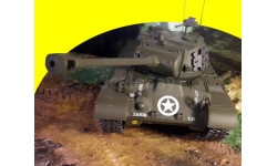 M26 Pershing (T26E3) 2nd Armored Division Germany - April 1945 1/43 1:43 танк