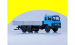 МАЗ-6303  бортовой (голубой/серый) /откидывающаяся кабина/