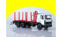 МАЗ-6303 сортиментовоз АИСТ 102477, масштабная модель, 1:43, 1/43, Автоистория (АИСТ)