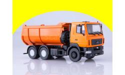 МАЗ-6501 самосвал, U-образный кузов (оранжевый) 101333.оранж, масштабная модель, Start Scale Models (SSM), scale43