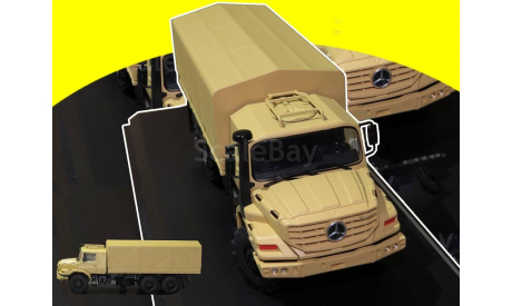 Mercedes Benz Zetros 6x6 Military, масштабная модель, 1:43, 1/43, Renner Werbemittel, Mercedes-Benz