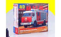Сборная модель АЦ-3,2-40 (43253) АВД 1269AVD,, сборная модель автомобиля, 1:43, 1/43, AVD Models, КамАЗ