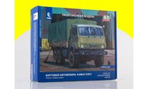 Сборная модель КАМАЗ-53501 6x6 Мустанг 1307AVD, сборная модель автомобиля, 1:43, 1/43, Автомобиль в деталях (by SSM)